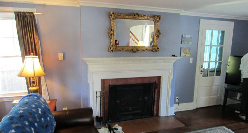 Bristol Over Fireplace Wires Concealed
