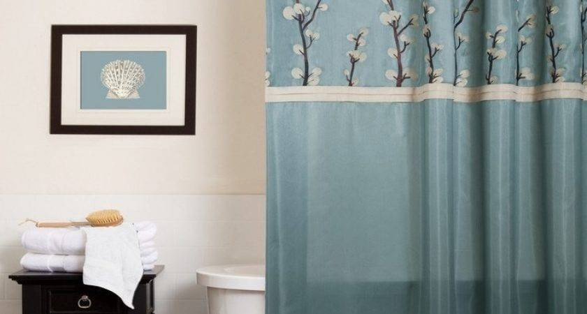 Brown Blue Color Combinations Shower Curtain Best