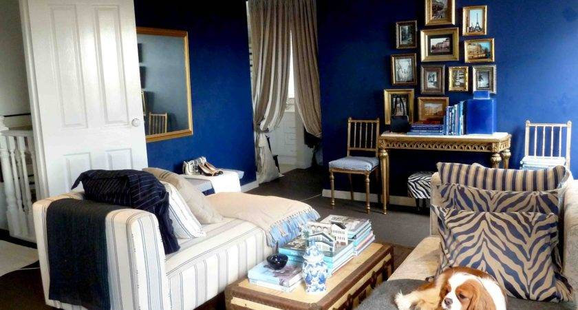 Brown Blue Yellow Living Room Ideas