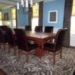 Brown Dining Blue Room Paint Color