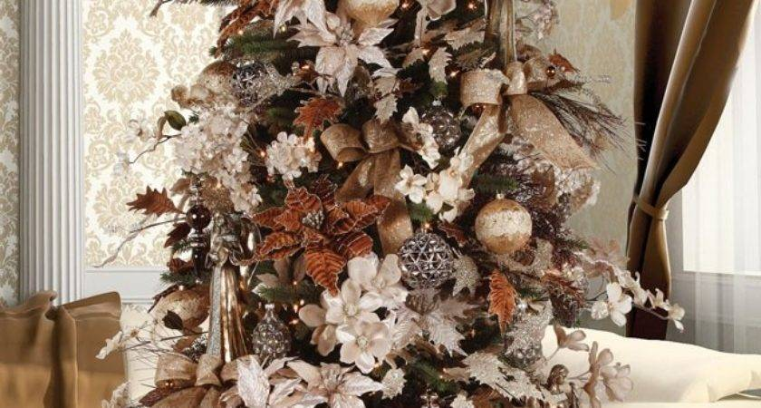 Brown Gold Decorations Ideas