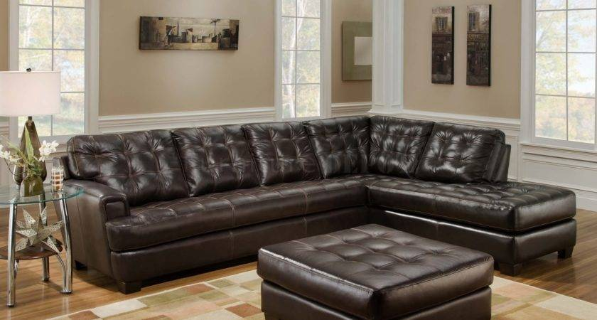 Brown Leather Couch Interior Design Ideas Grey