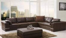 Brown Leather Sectional Sofa Design Ideas Residence Ideal