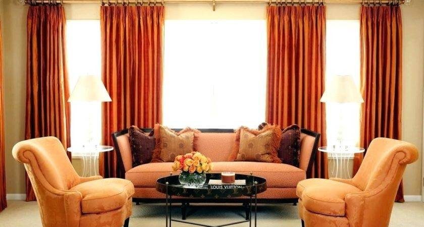 Brown Red Orange Home Decor Chocolate Living Room