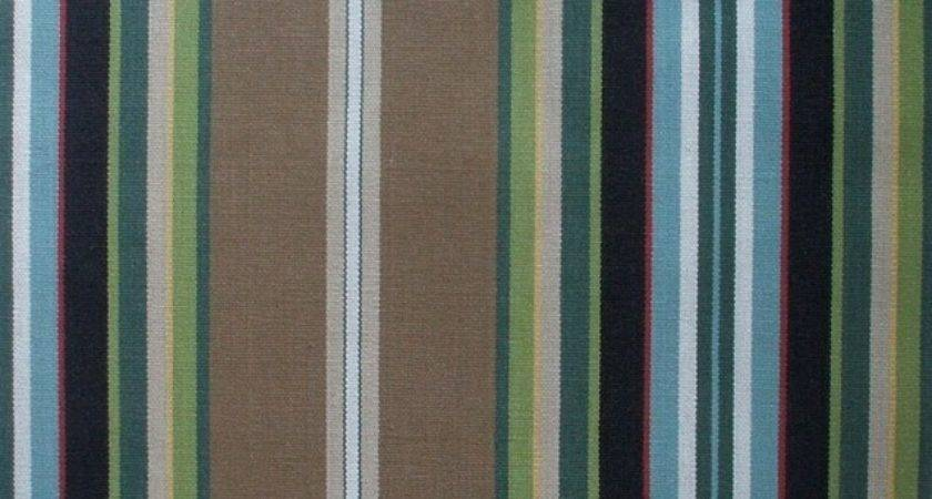 Brown Striped Shower Curtain House Decorating