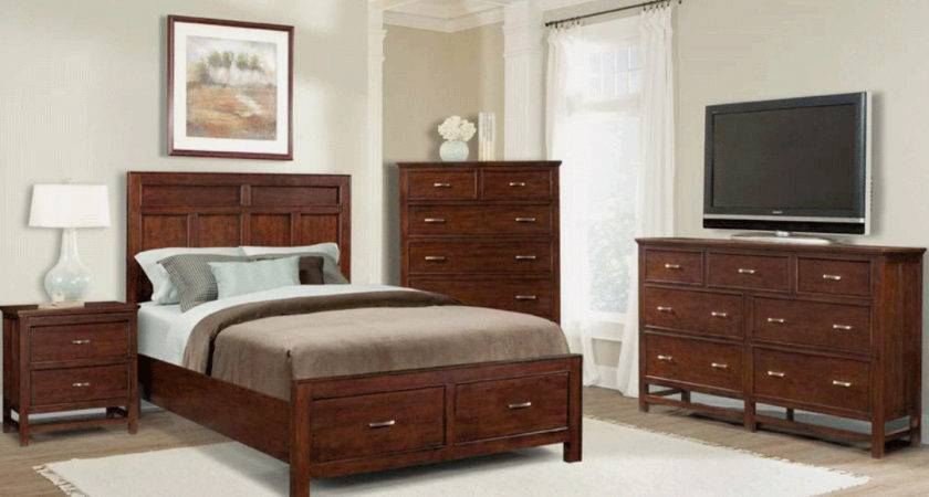 Brown White Bedroom Furniture Raya