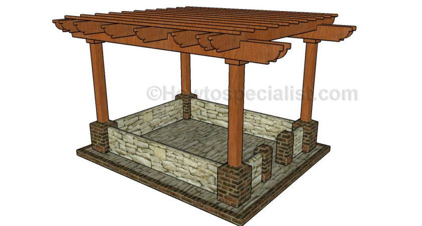 Build Pergola Patio Howtospecialist
