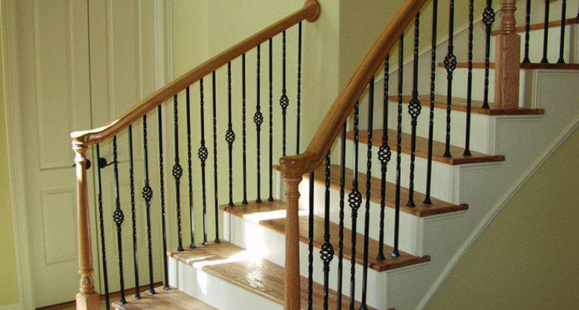Build Wood Handrail New Design Woodworking