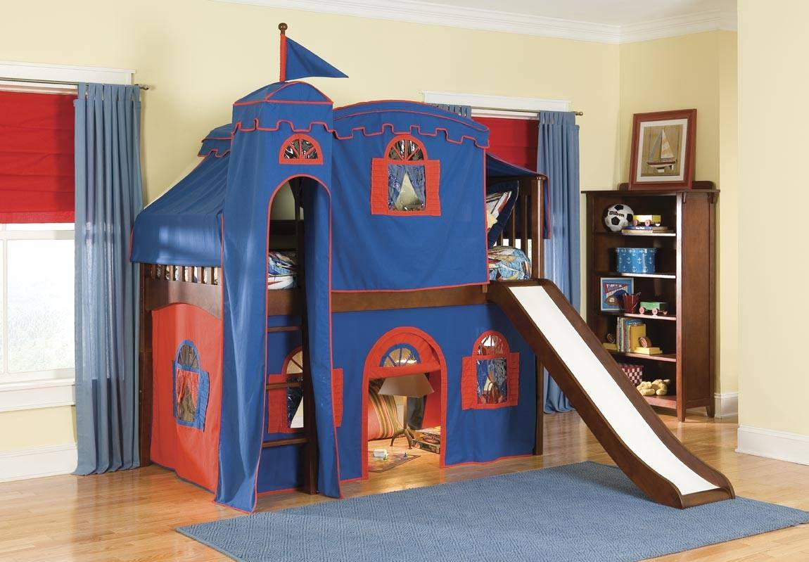 Picture of: Build Your Own Cool Bunk Beds Slides Atzine Homes Decor
