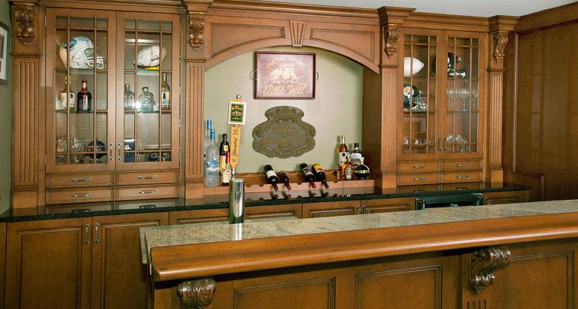 Building Home Bar Design