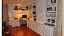 Built Desk Cabinets Best Home Interior