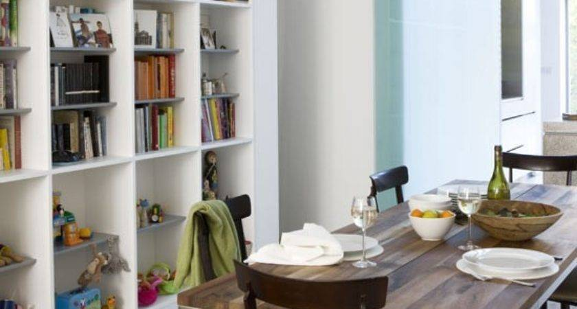 Built Storage Dining Room Rooms