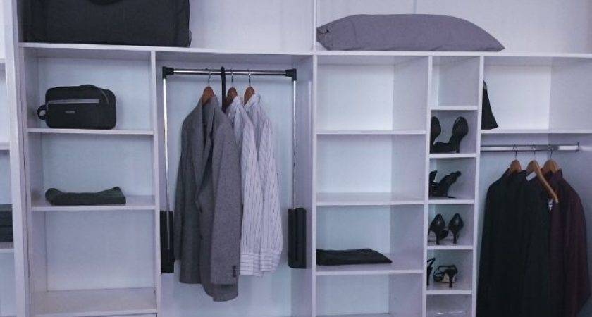 Built Wardrobe Overhead Storage Robes