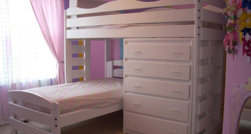Bunk Beds Shaped Princess Bed Ana White