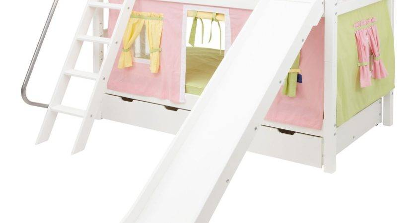 Bunk Beds Slide Girls Decorate House