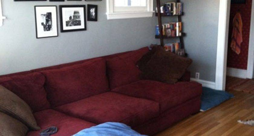 Burgundy Gray Walls Maroon Living Room Decorating