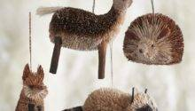 Buri Animal Ornaments Contemporary Christmas