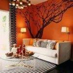 Burnt Orange Accent Wall Bedroom Fresh Bedrooms Decor Ideas