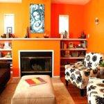 Burnt Orange Bedroom Ideas Brown