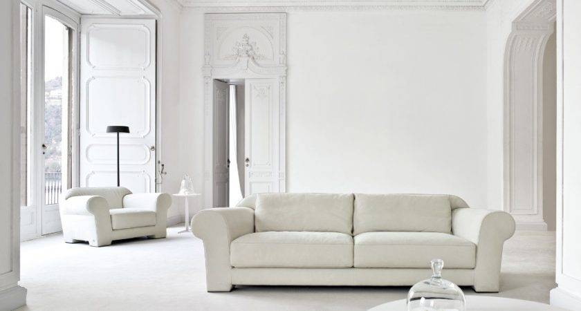 Busnesli White Living Room Interior Design Ideas
