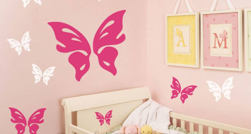 Butterfly Wall Decal Stickythings