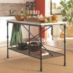 Buy Kitchen Carts Island Faux Marble Top