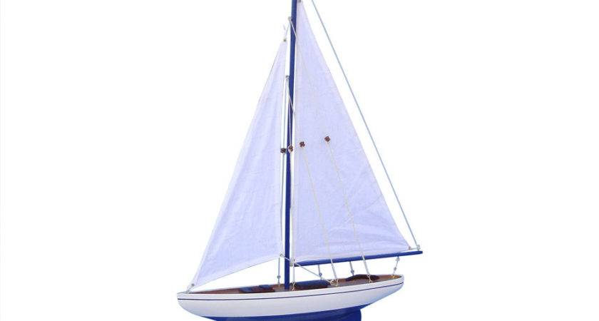 Buy Wooden Pacific Sailboat Model Decoration