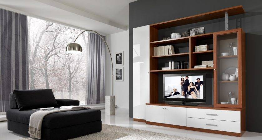 Cabinets Living Room Wall Indian Unit Designs