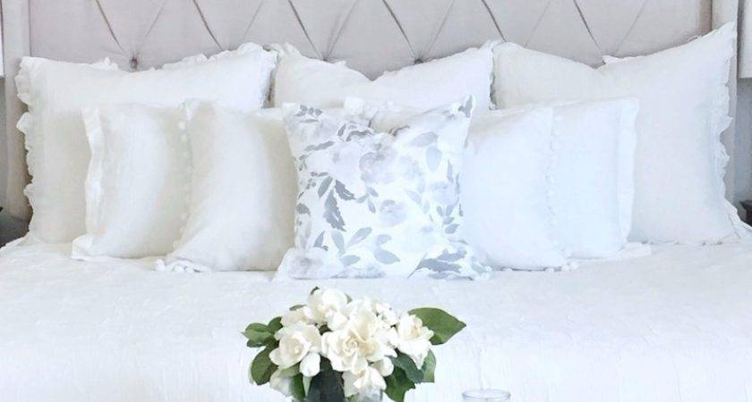 Calm Charming All White Bedrooms Master Bedroom Ideas