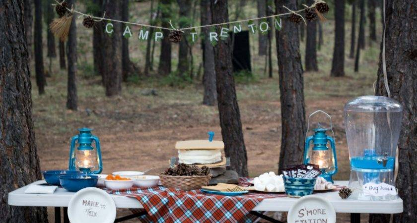 Camping Birthday Party Ideas Indoor Theme