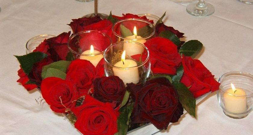 Candles Red Roses Blog