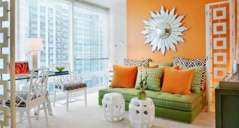 Casual Modern Living Room Designs Colorful Decor