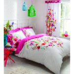 Catherine Lansfield Bright Floral Bedding Set Multi Iwoot