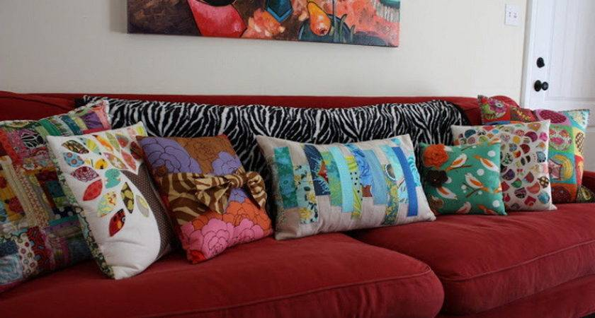 Change Sofa Look Only Beautifying Throw Pillow