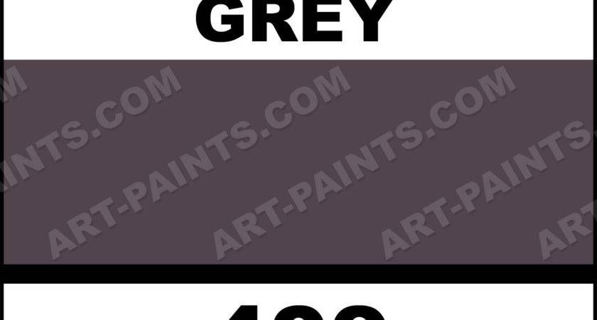 Charcoal Grey Colours Acrylic Paints