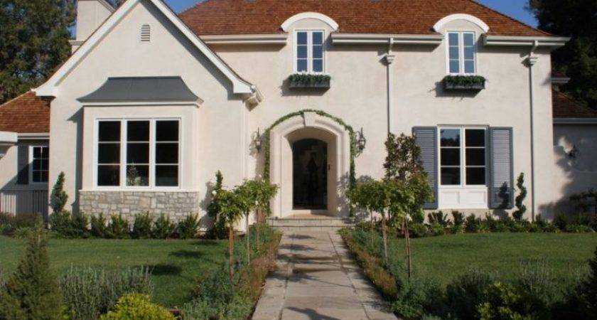 Charming Exterior Paint Colors Brown Roof Ideas