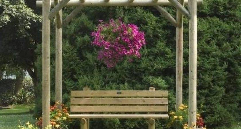 Charming Rustic Pergola Kit Manufactured Pressure