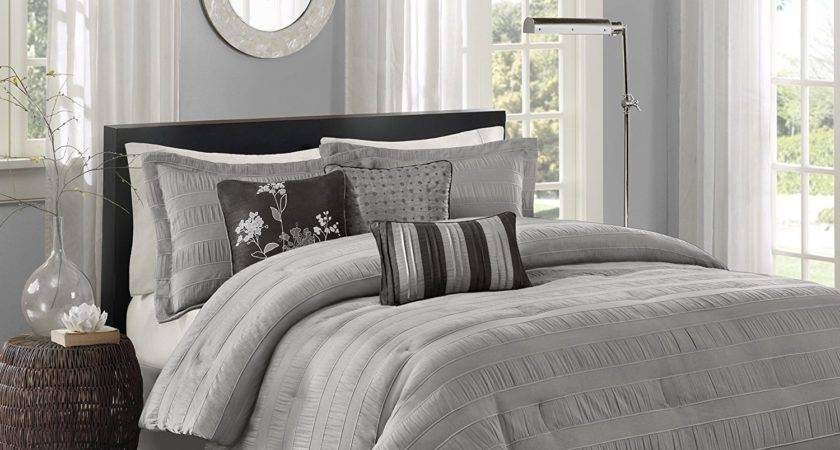 Cheap Best Grey Comforters Ease Bedding Style