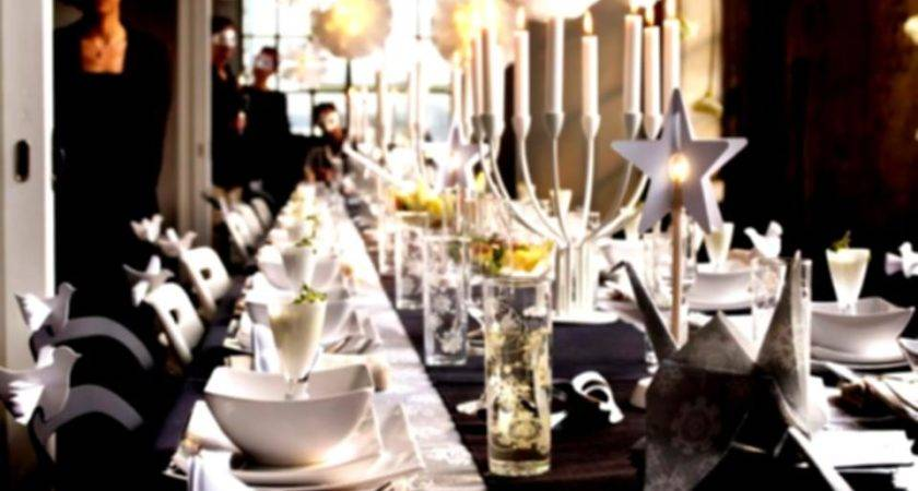 Cheap Christmas Table Decorations Breathtaking Party