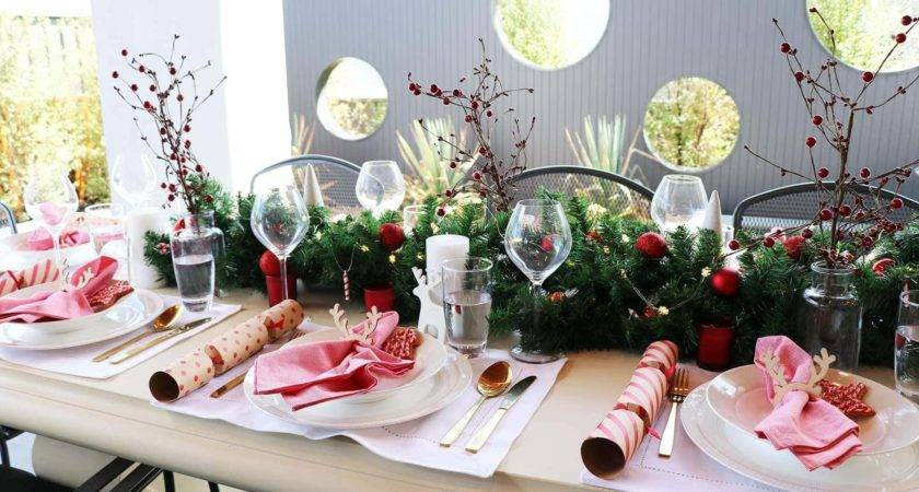 Cheap Christmas Table Setting Ideas Wow Factor