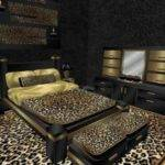 Cheetah Print Bedroom Accessories Interior Design