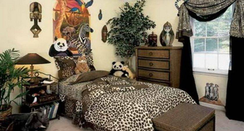 Cheetah Print Bedroom Decor Animal Prints Room