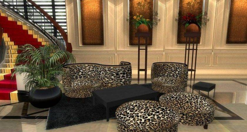 Cheetah Print Living Room Decor Sybaritic Spaces