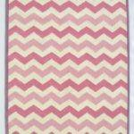 Chevron Zig Zag Pink Purple Area Rug Adc Rugs