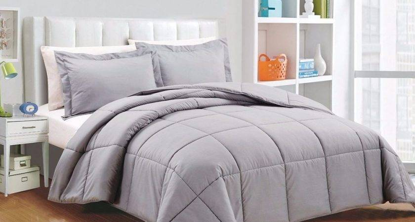 Chezmoi Collection Piece Down Alternative Comforter Set