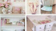 Chic Bedroom Shabby Home Decorating Ideas Pinterest