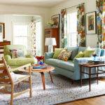 Chic Colorful Spring Living Room Designs Home
