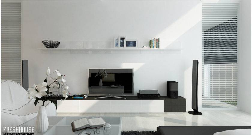 Chic Contemporary Spaces Rendered Anh Nguyen