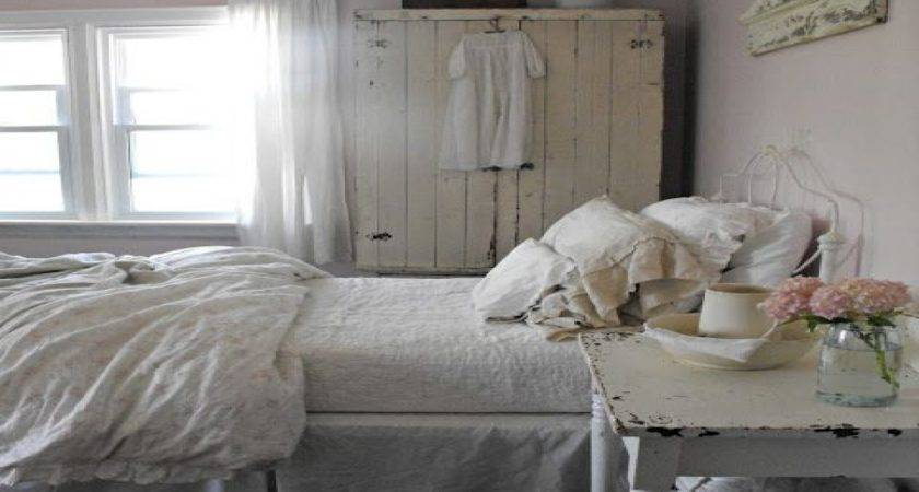 Chic Gray Bedroom Rustic French Country Shabby