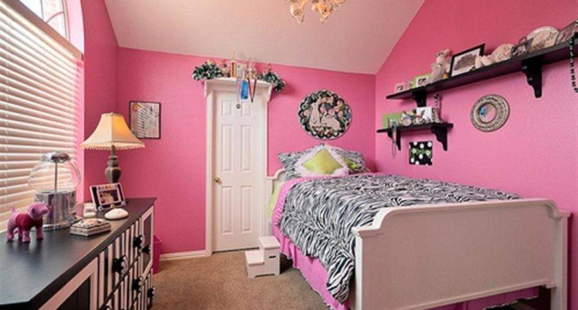 Children Bedroom Color Ideas Pink Colors Themes
